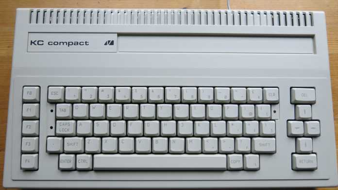 KC compact: Der letzte Heimcomputer der DDR