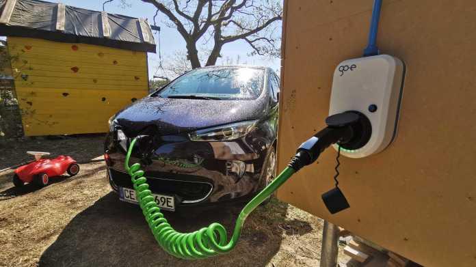 E-Autos laden mit go-eCharger und stundengenauem Tarif