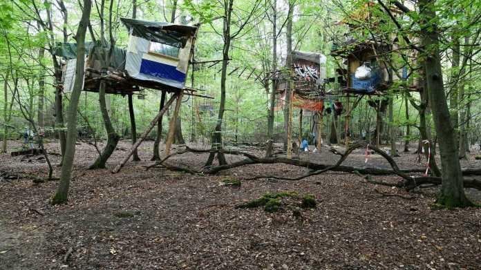 Hambacher Forst: Polizei belieferte RWE mit vielen GPS-Daten und Fotos