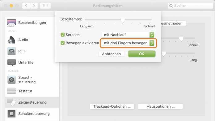 Tipp: Einfacheres Drag & Drop mit dem Mac-Trackpad
