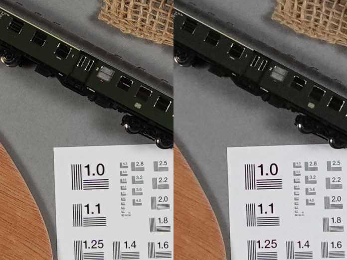 Bei hohen ISO-Werten wie 1600 (rechts) hält die ZV1 noch angenehm viele Details im Bild.