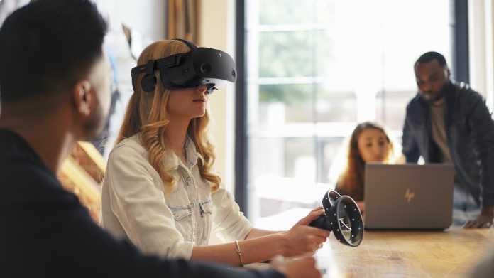 VR-Brille HP Reverb G2: 4K-Auflösung und Valve-Linsen für 600 US-Dollar