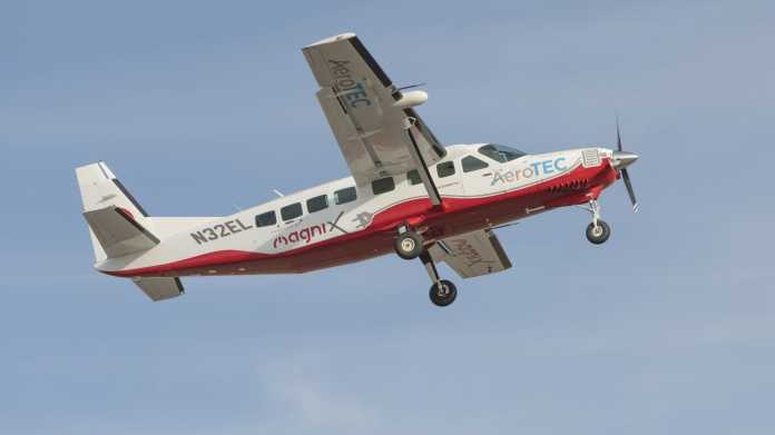 Vollelektrische Cessna Grand Caravan hebt erstmals ab