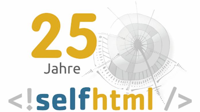 Hilfe für ein systematisches Verständnis: Das Nachschlagewerk SELFHTML wird 25