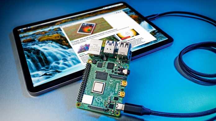 Raspberry Pi 4 als Datenhalde und PC-Ersatz am iPad Pro