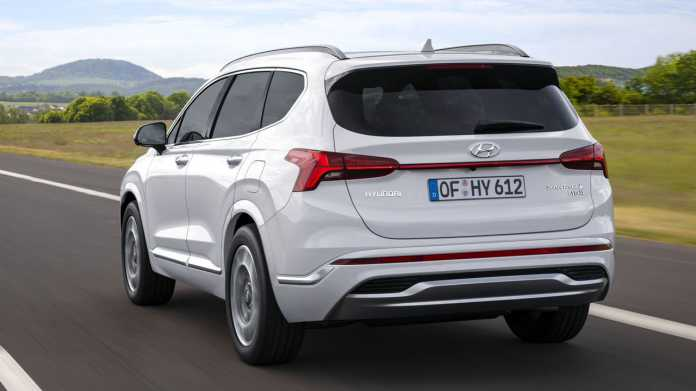 Hyundai Santa Fe: Modellpflege mit neuer Basis bringt zwei Hybridantriebe