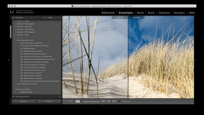 Mit Lightroom-Vorgaben: Bildbearbeitung auf Knopfdruck