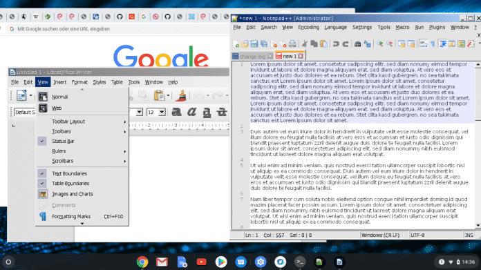 Windows-Apps unter Chrome OS zum Laufen bringen