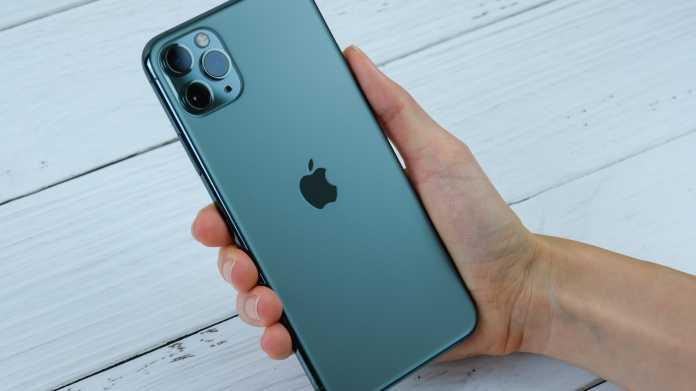 iPhone 11: Nutzer klagen über grünen Bildschirm