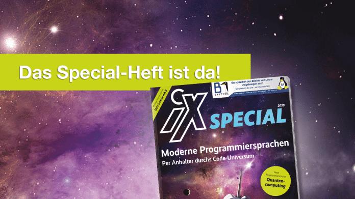 iX 13/2020: Moderne Programmiersprachen