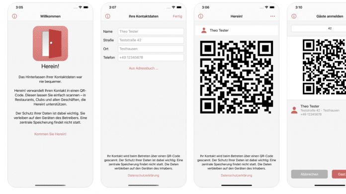 Registrierungspflicht in Gastronomie & Co: App gegen Papierliste