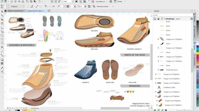 CAD-Publikation: CorelDraw Technical Suite 2020