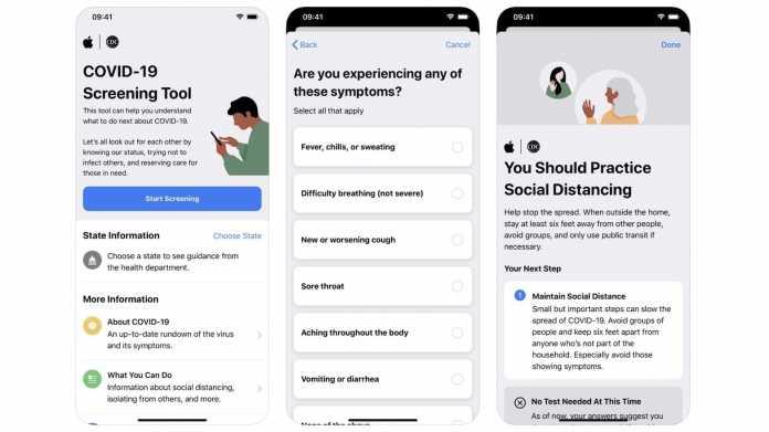Apple schickt Corona-App-Ergebnisse an Behörden