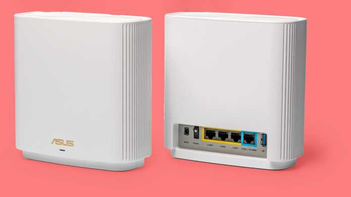 Asus ZenWifi AX (XT8): Mesh-WLAN mit Multigigabit-Ethernet