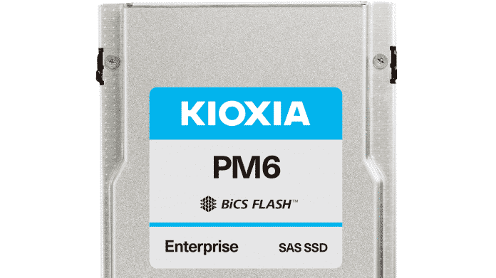 Kioxia PM6: Erste SAS-24G-SSDs mit 30,72 TByte Speicherplatz