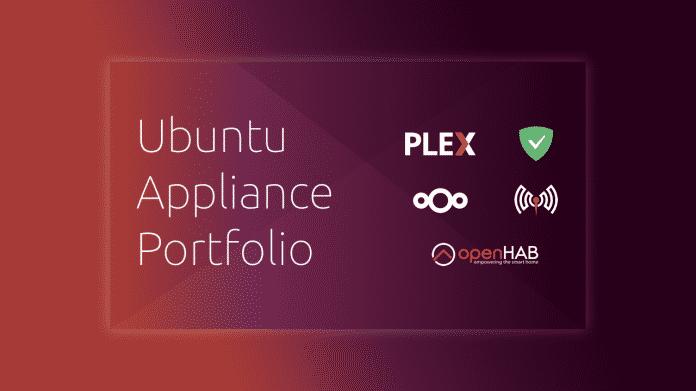 OpenHAB, Plex und Co: Canonical legt fünf Ubuntu-Appliances auf