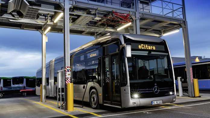 eCitaro G: Daimler baut elektrischen Gelenkbus mit Feststoff-Batterie