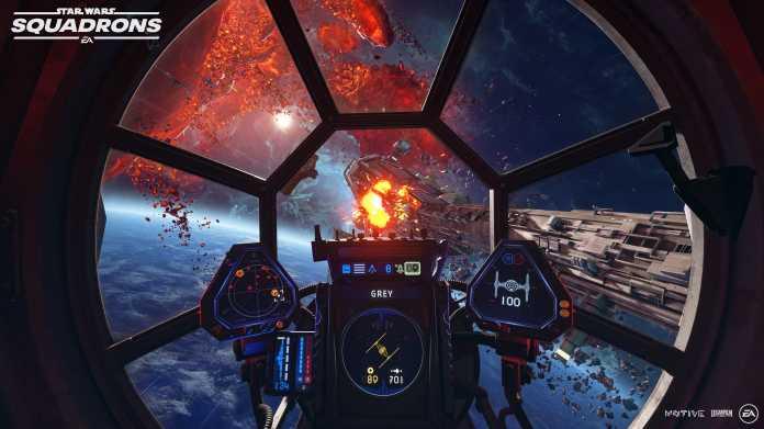 """""""Star Wars Squadrons"""": Gameplay-Szenen zeigen Raumschlachten"""
