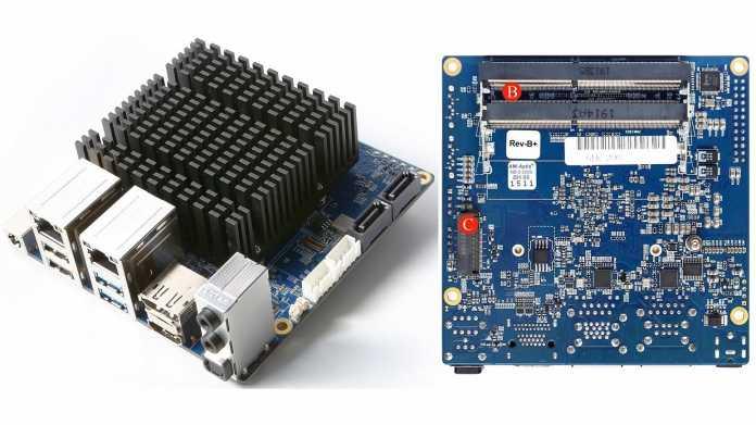 Odroid-H2+: Bastelcomputer mit 2 × 2,5-Gigabit-Ethernet und M.2-Anschluss