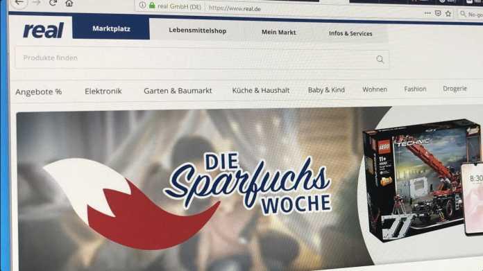 Kaufland übernimmt real.de