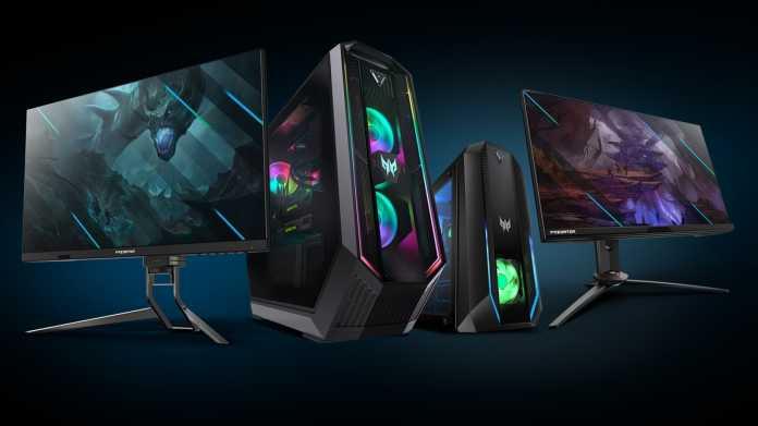 Schnelle Gaming-Monitore: Displays mit bis zu 360 Hertz