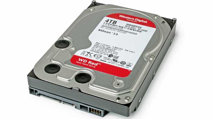 NAS-Festplatten: Synology führt WD-Red-HDDs jetzt als inkompatibel
