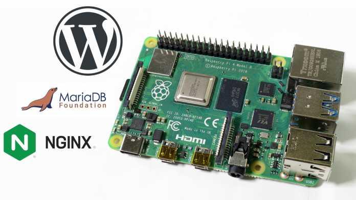 Webseite mit WordPress auf dem Raspberry Pi hosten