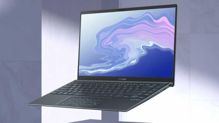 Asus ZenBook 14: Notebook-Leichtgewicht mit Ryzen 7 4700U und langer Laufzeit