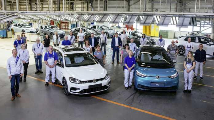 Volkswagen stellt Werk Zwickau auf Elektroautos um