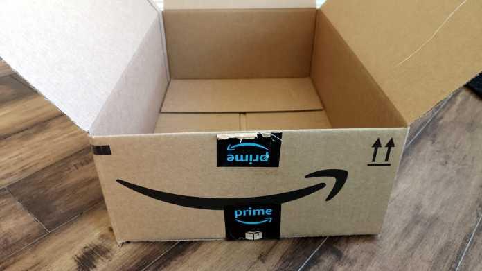 Leere Amazon-Schachtel