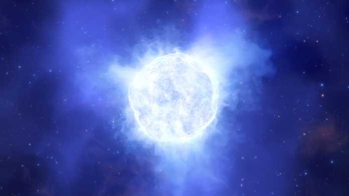 Astronomen rätseln: Gigantischer Stern einfach verschwunden