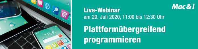 Live-Webinar: Plattformübergreifend programmieren