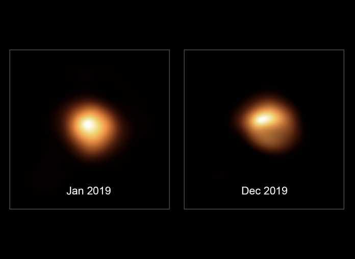 Aufnahmen der Europäischen Südsternwarte zeigen die dunklen Flecken.