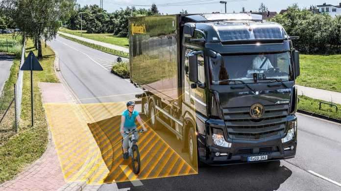 Continental bietet Abbiegeassistent zum Nachrüsten an