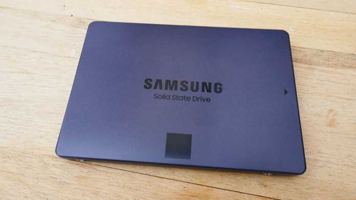 Samsung-SSD 870 QVO mit 8 TByte
