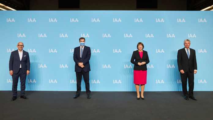 Die kommende IAA in München gibt sich ideenoffen