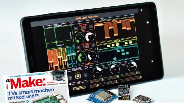 ESP8266: Hardware steuern mit TouchOSC