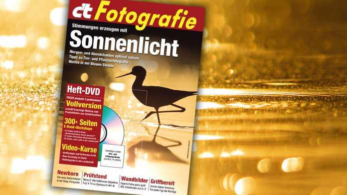 c't Fotografie 4/2020: Lichtrezepte für bessere Fotos