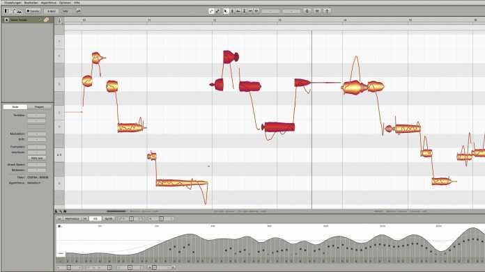 Wie Melodyne 5 schiefen Gesang korrigiert