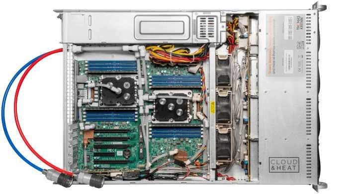 RI2208-LCS: Thomas-Krenn stellt Standard-Server mit Wasserkühlung vor