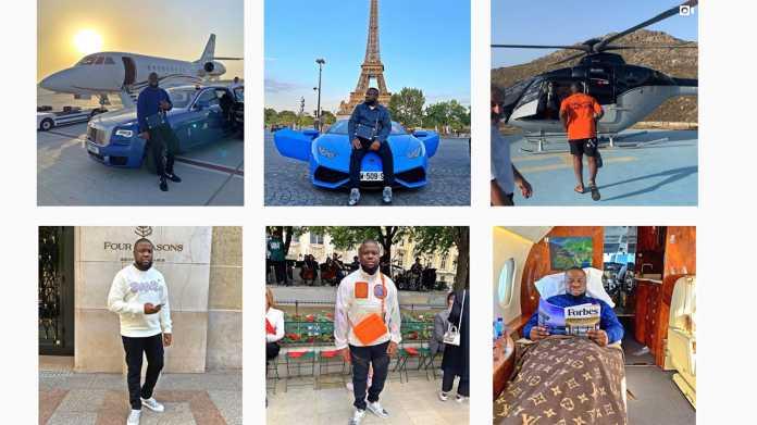 Millionenfacher Online-Betrug: Nigerianischer Instagram-Influencer festgenommen