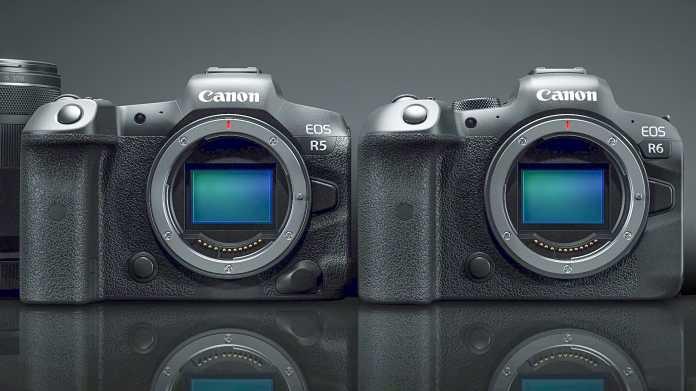 Spiegeloses Vollformat mit 45 Megapixeln von Canon