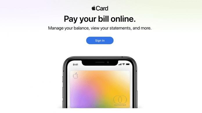 Apple Card bekommt eigenes Webportal