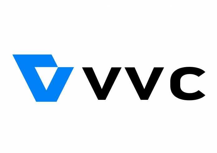 Das offizielle Logo des VVC- beziehungsweise H.266-Kodierers.