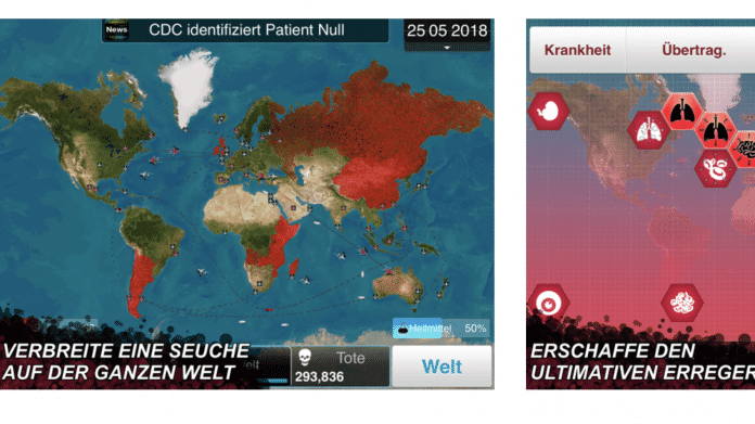 "Pandemie-Simulation ""Plague Inc"" fliegt aus App Store in China"