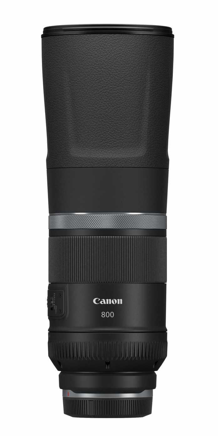 Noch mehr Brennweite: Das Canon RF 800mm F11 IS STM bietet eine mit 800 Millimetern vergleichsweise lange Brennweite. Die maximale Lichtstärke liegt lediglich bei f/11.