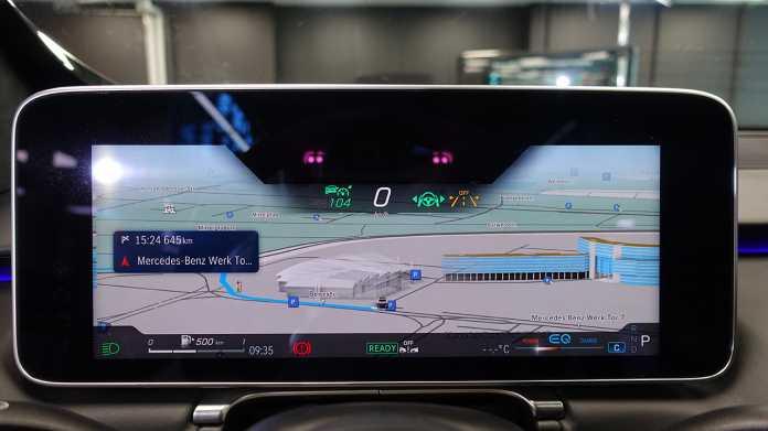 Mercedes stellt überarbeitetes Infotainment MBUX vor