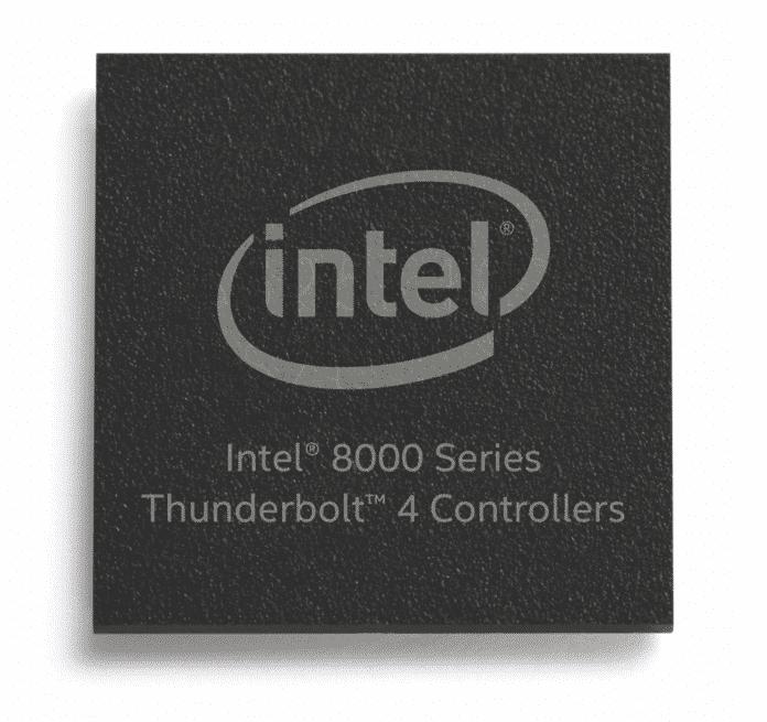 Intel hat drei Thunderbolt-4-Controller im Angebot.