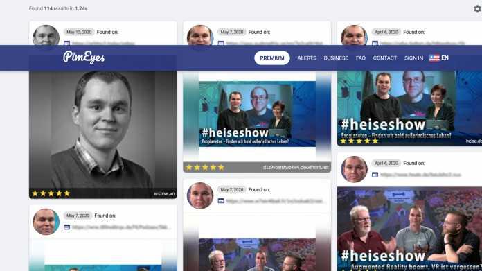 Angriff auf die Anonymität: Polnische Gesichtssuchmaschine PimEyes in der Kritik