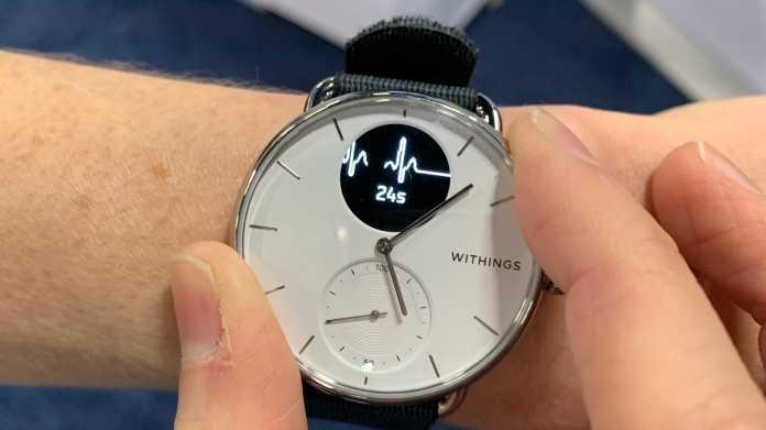EKG-Smartwatch: Withings verschiebt Markteinführung der ScanWatch